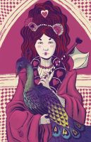 Queen of Hearts by liliesformary