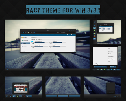 Racy Theme for Win8/8.1(Final Update) by Cleodesktop