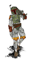 boba fett by Kna