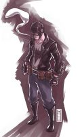 Rockabilly Batman by D33ablo