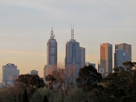 Downtown Melbourne by rmbastey