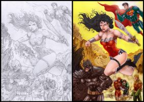 Justice League by RobertoRibeiro