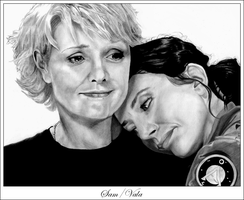 Sam+Vala SG-1 by miserable-dreamer