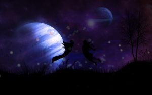 Love under the sky by nmoreKharon