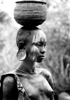 African Portrait by blink-click