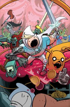 Adventure Time #21 Cover Colors by JavierReyes