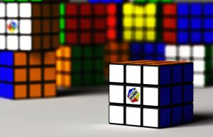 Rubik's Cubes by foreverCTY