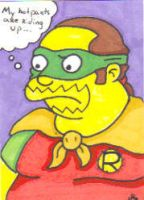 Comic Book Guy as Robin by Robomonkey82