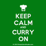 Keep Calm And Curry On by ZinniaSnowdrop