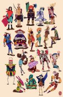 Characters 01-20 by vesssel