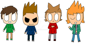 Eddsworld Chibis by tails-fangirl