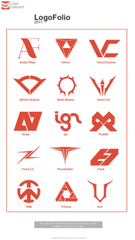 Logo Pack 2011 Works. by LogoConcept