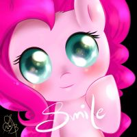 Little pinkie smile by SmileSmileSmileX3