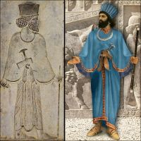 Achaemenid clothing by miladps3