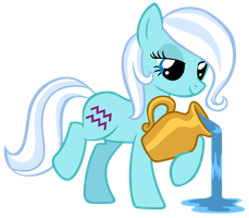 Aquarius Pony Vector by ArcticFox1095
