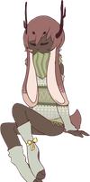 CLOSED AUCTION: JACKALOPES ARE KEWL 79 by Tochi-Adopts