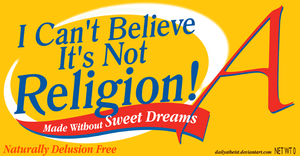 I Can't Believe by DailyAtheist
