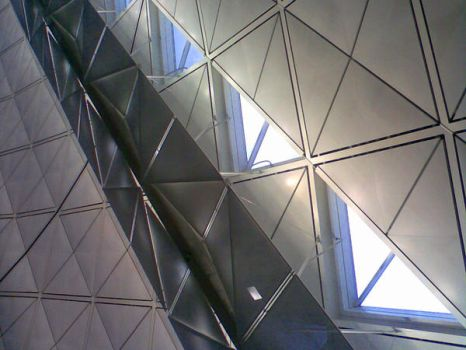 Triangles at HKIA by lizzie5apple