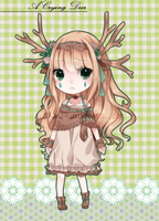 Adoptable 05 : .:A Crying Deer:. AUCTION CLOSED by Haru-run