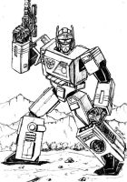 Transformers G1 - Blaster by Carnivius