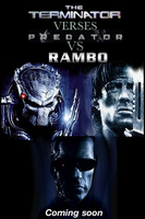 The terminator vs predetor vs rambo by Tony-Antwonio