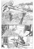 spidey vs the shield page 2 by 0mi