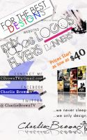Promotion Flyers by CBrownDESIGNS