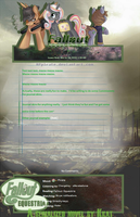 Fallout: Equestria Journal Skin by RPpirate
