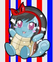 Squirtle TOO KAWAII by VVednesdays