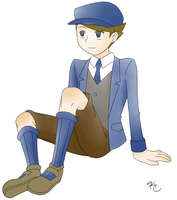 Professor Layton - Clive by Poefish