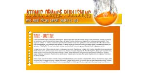Atomic Orange Publishing by Garsondee