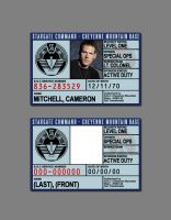 Stargate Command ID Badge by SilentArmageddon