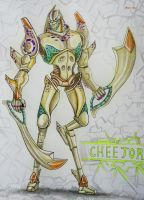 TF: Beast Machines - Cheetor by MaryDec