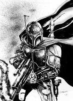 Boba Fett by stockyboy