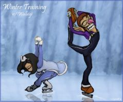 CE: Winter Training with Waluigi by CyberB
