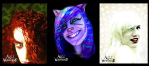Anya: Mad, Cheshire, Queen... by littlehippy