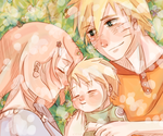 Naruto AU - The Three Companions by Kirabook