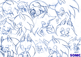 Expressions: Sonic by Zychel