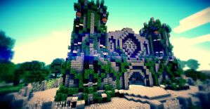 Minecraft - Church Wallpappers by Nsgeo