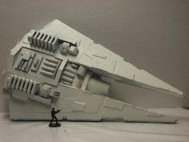 Untitled Scout ship by qzbk
