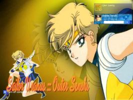 SailorUranus In Action by shintatenoh