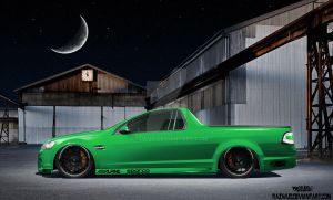 Custom Holden Thunder Ute by Razwud