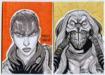 Mad Max fury road sketch cards by mdavidct