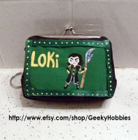 Loki coin purse/ wallet by Sugar-Bolt