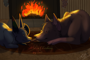 Speedpaint: As We Dream By the Fire... by Naoki-Wolf