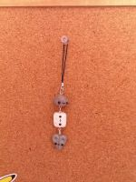 Rock Paper Scissors Dangle Keychain by SquirtleSam