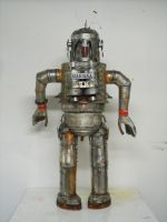 filthy Robot 3 by gibsart