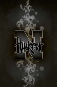 Huskers iPhone Wallpaper - BLK by walexm311