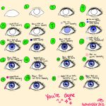 Eye Tutorial for Paint Tool SAI by ValkyrieNix