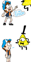 Easily Defeated Dipper by TAGMAN007